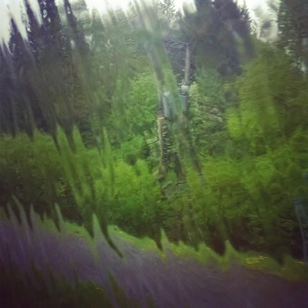 Sade piiskaa ikkunoita, kun OVS:n retkikunta taittaa matkaa kohti Tampereen SM-kisoja. Mukana yhteensä 18 OVS-Junnua. #tennis #suomenkesä #matkalla