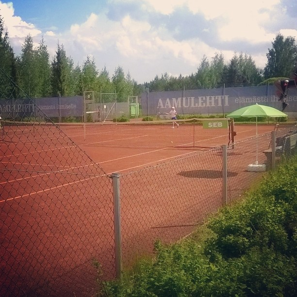 SM-kullan kohtalo ratkeamassa. #tennis #winnertakesitall #oulu
