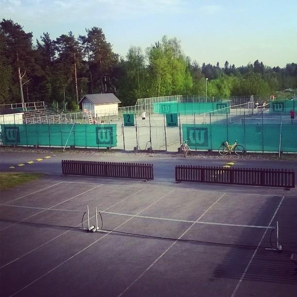 Pelikelit kohillaan #tennis #oulu #kesä #nallisport